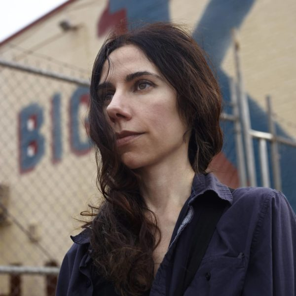"PJ Harvey as featured in Seamus Murphy's film ""A Dog Called Money"". His feature documentary on their collaboration traces the sources of the songs that were inspired by their travels, and tells stories of the some of the people and places they encounted along the way."
