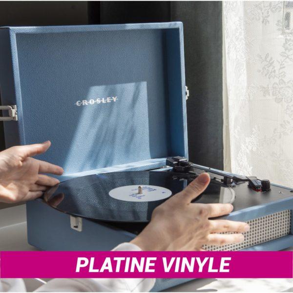 Platine vinyle Crosley Voyager