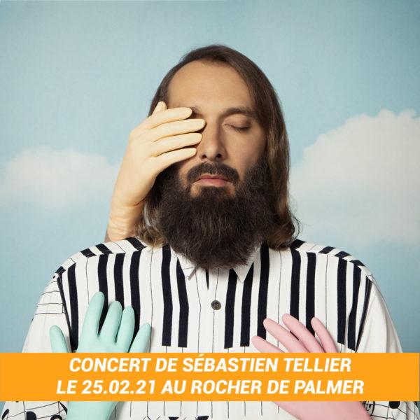 Places pour le concert de Sébastien Tellier au Rocher de Palmer