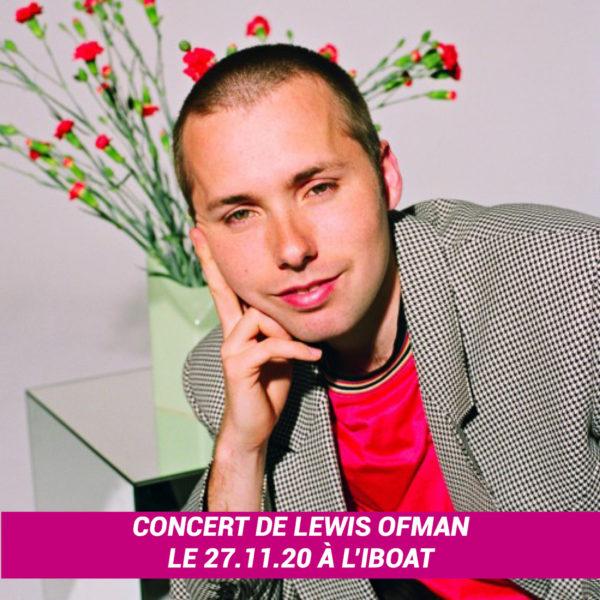 Places pour le concert de Lewis Ofman à l'IBOAT